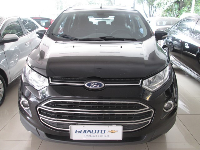 FORD ECOSPORT TITANIUM 1.6 16V FLEX 4P MANUAL