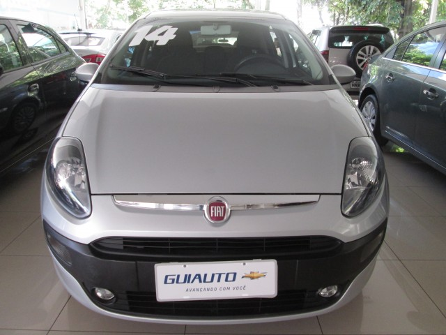 FIAT PUNTO ATTRACTIVE 1.4 8V FLEX 4P MANUAL